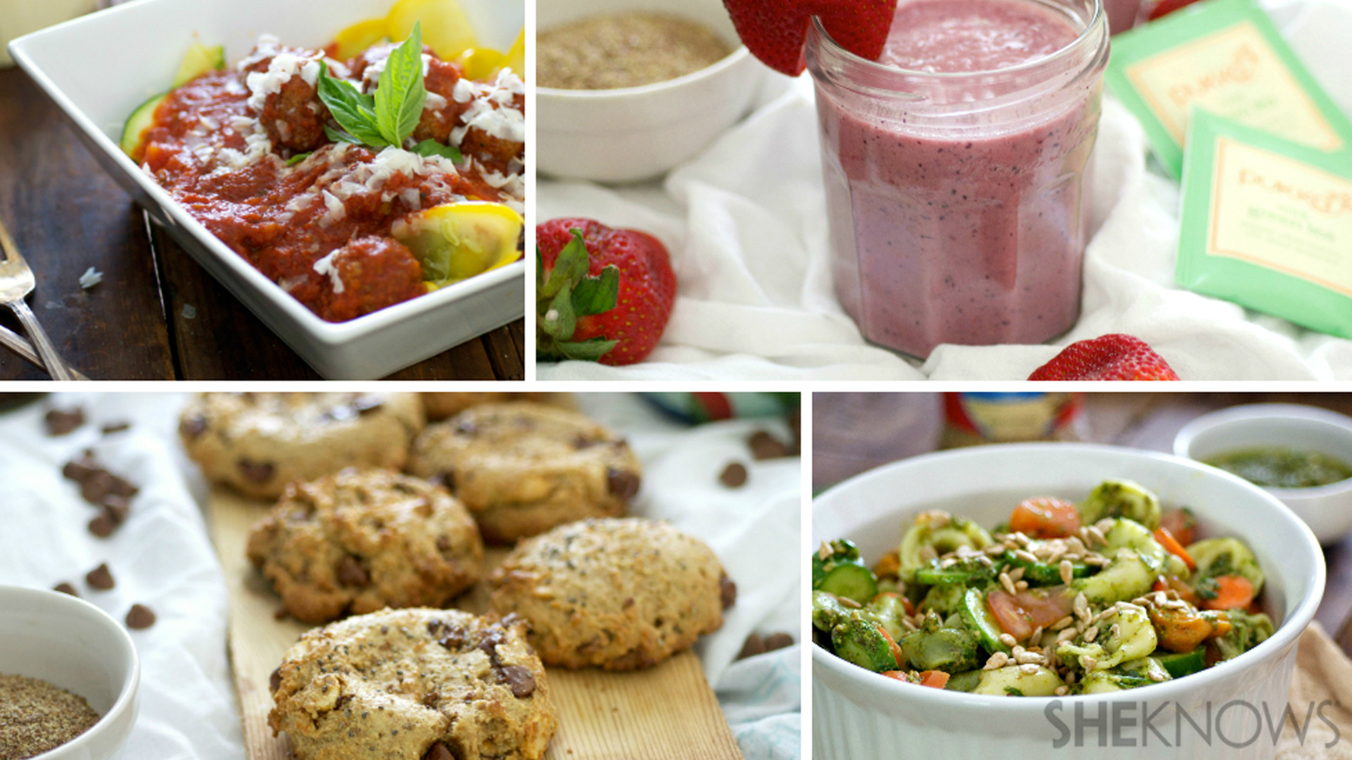 4 healthy summer recipes for a flat belly