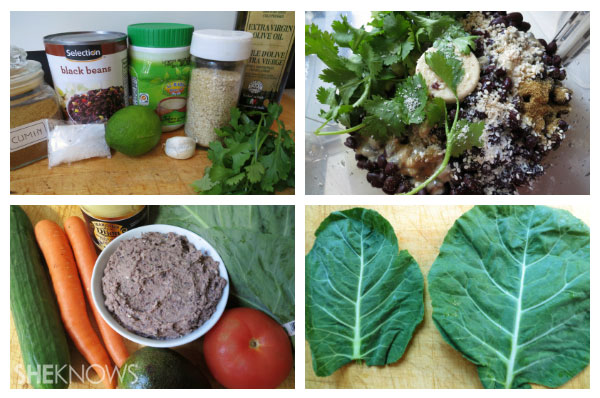 Collard green wraps directions | Sheknows.ca - first steps