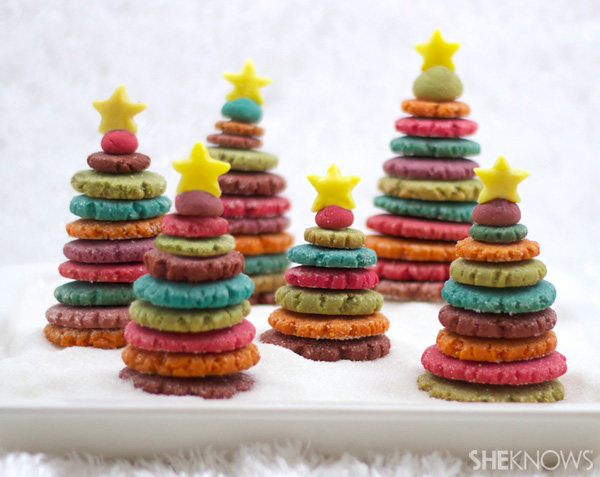 Colorful 3d Christmas Tree Cookies Sheknows