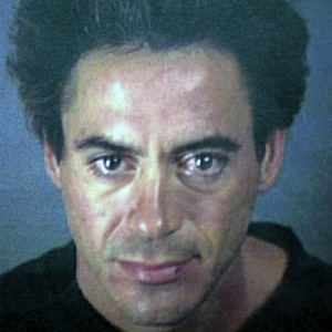 Robert Downey Jr. mug shot