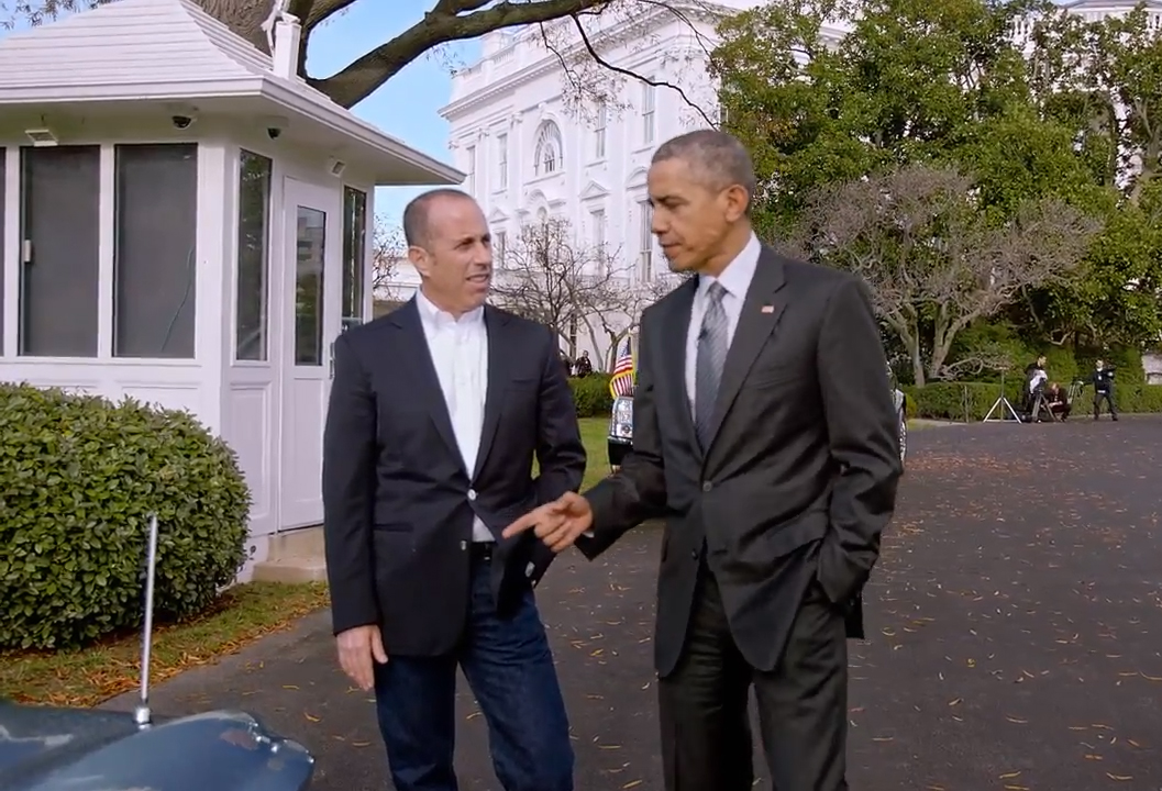 Obama and Seinfeld