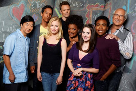 Community's cast has reasons to smile!