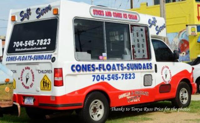 the cones food truck