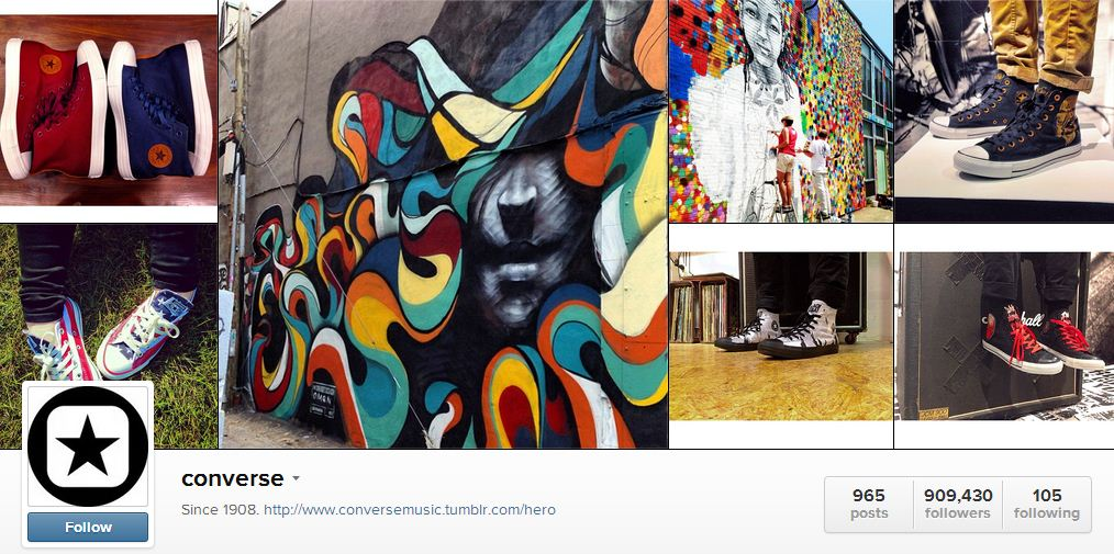 Converse's Instagram | Sheknows.ca