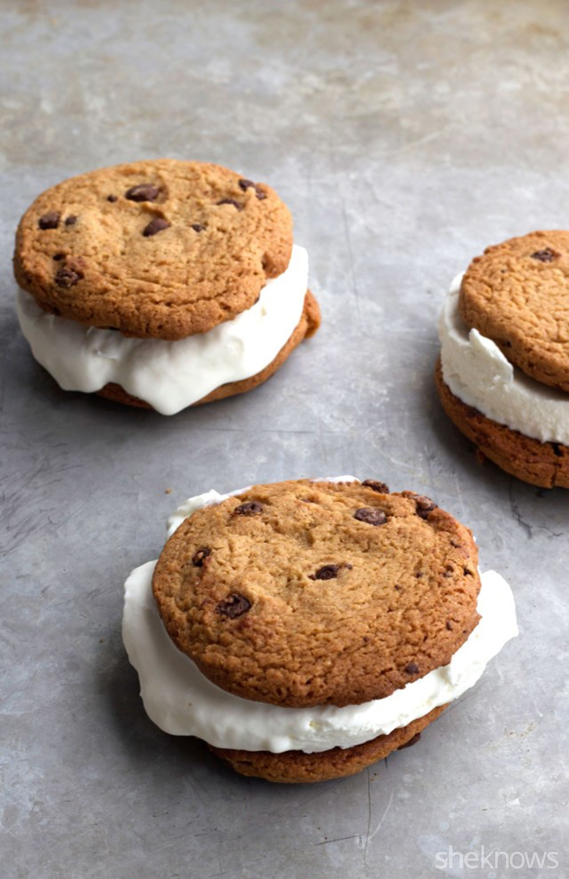 Easy homemade soft serve takes these ice cream sandwiches to