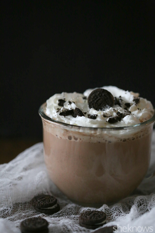 cookies and cream hot chocolate