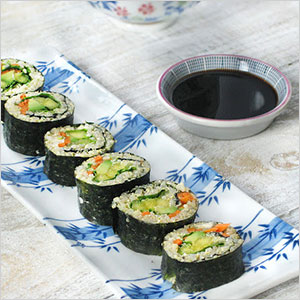 Avocado and mango sushi | Sheknows.ca