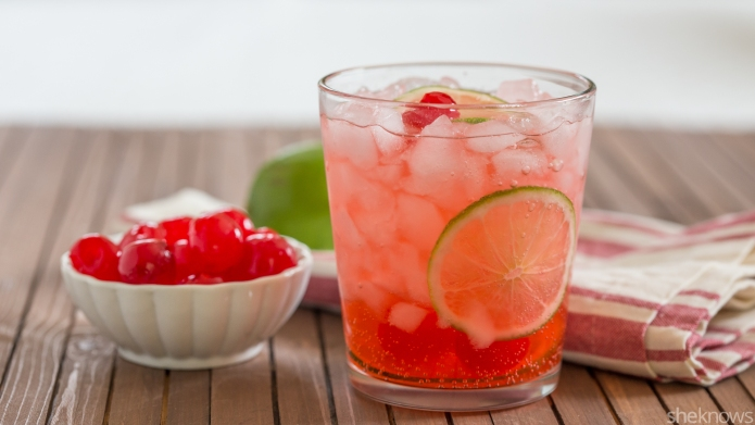 Copycat Sonic cherry limeade is even