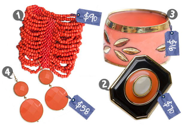 coral accessories for bold summer fashion