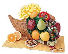 Cornucopia Fruit Gift Basket ($61)