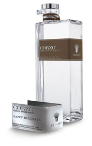 Personalized Corzo Tequila bottle label