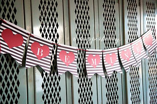 9 Super cute Valentine's Day banners