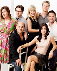 The Cougar Town cast