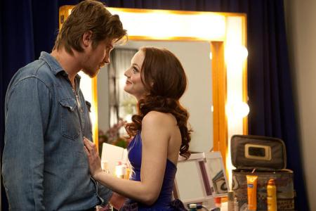 Leighton Meester and Garrett Hedlund in Country Strong