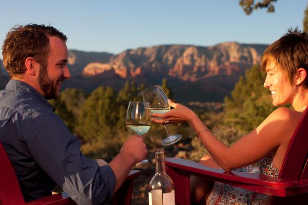 Couple on vacation in Arizona
