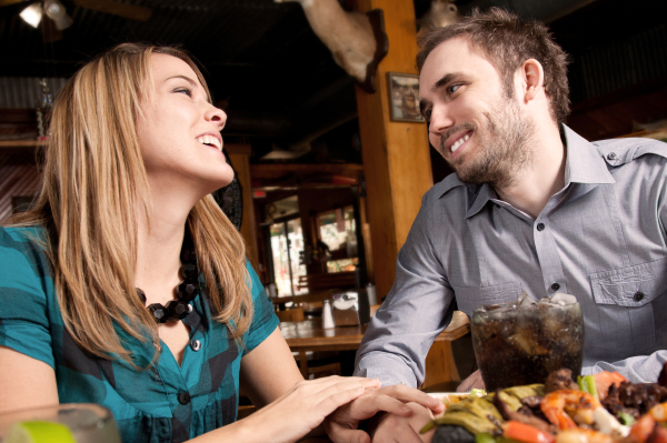 Couple enjoying a date
