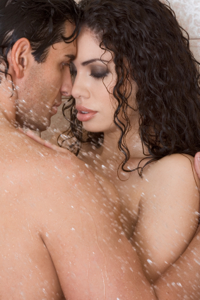 Couple shower