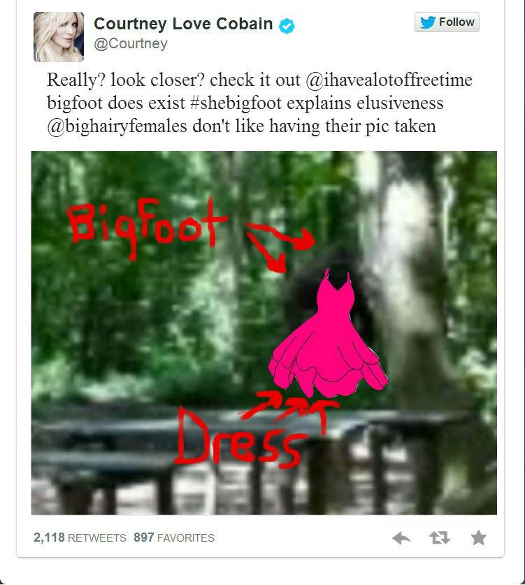 Courtney Love Twitter