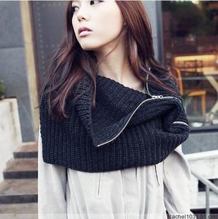 Zipper scarf
