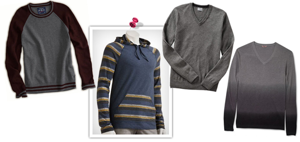 Cozy fall sweaters for teen boys