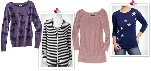 Cozy fall sweaters for teen girls