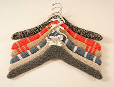 and knit hangers