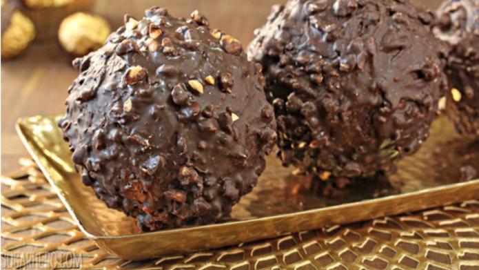 Giant Ferrero Rocher is the chocolate-hazelnut