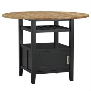 Crate and barrel raised dining table