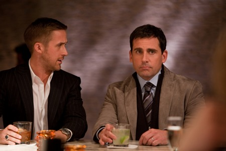 Ryan Gosling and Steve Carell in Crazy Stupid Love