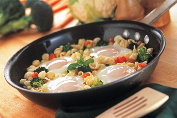 Creamy Egg Pasta