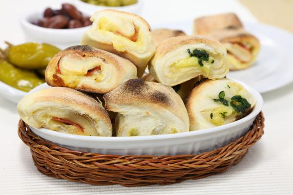 Crescent roll appetizer