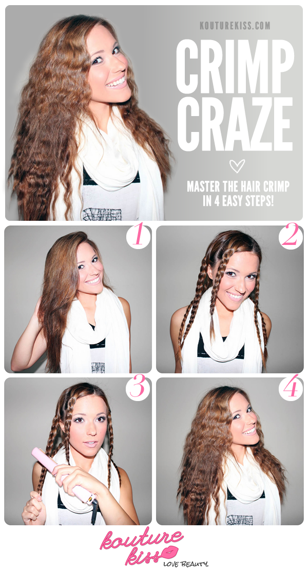 crimp hairstyle tutorial