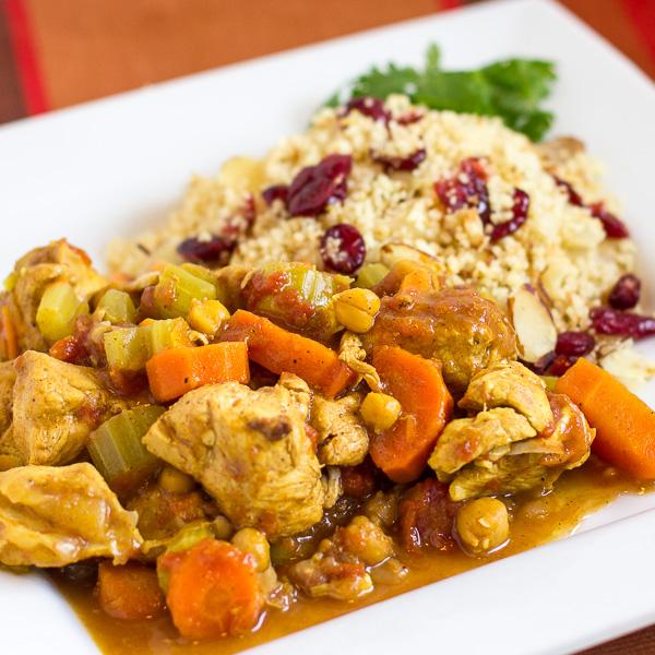 crock-pot chicken tagine