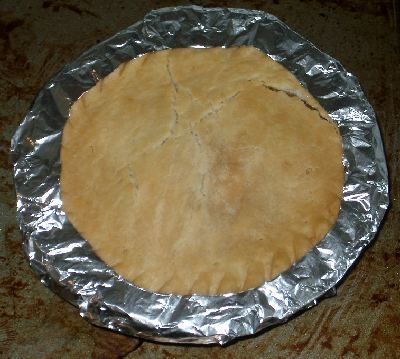 aluminum foil pie crust shield
