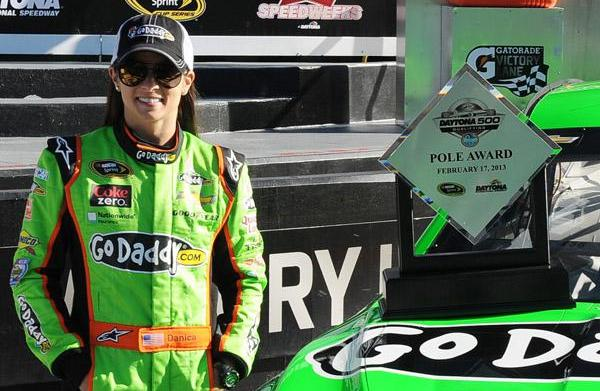 Danica Patrick talks about dominating in