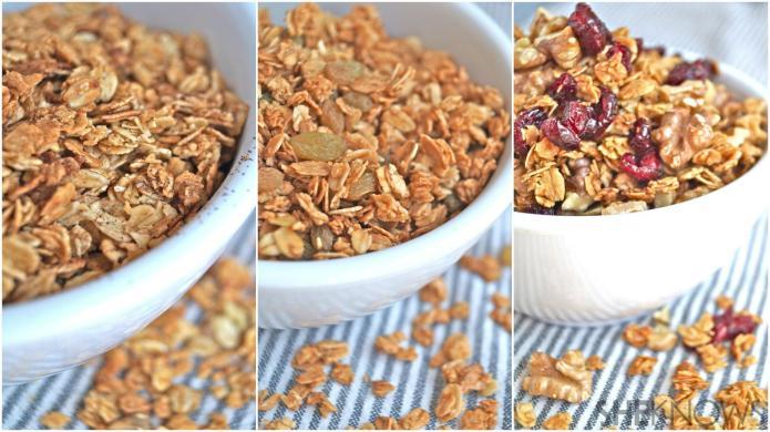 3 Homemade granola recipes and their