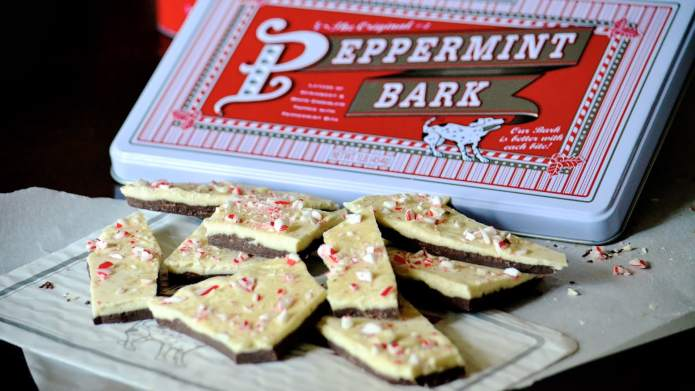 Williams-Sonoma Peppermint Bark Is Here to