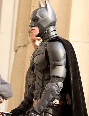 Christian Bale says goodbye to Batman