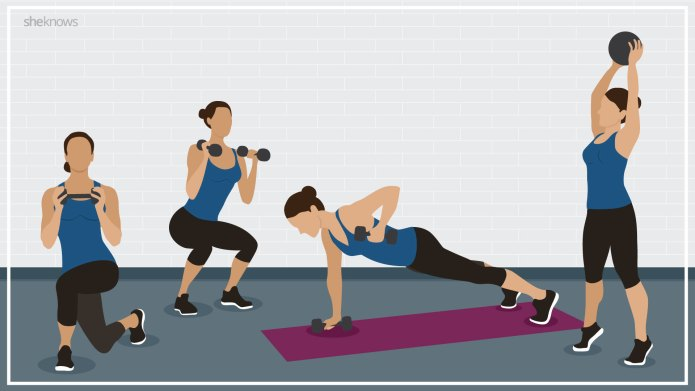 6 Simple exercises to replace your