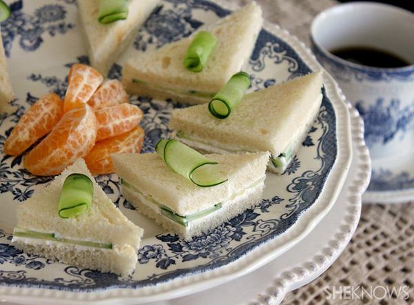 Cucumber cream cheese sandwiches recipes