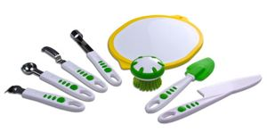 The Curious Chef's 8-piece Fruit and Vegetable Set