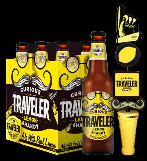 Curious Traveler Lemon Shandy
