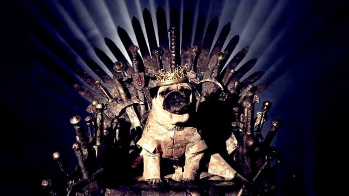 Game of Thrones — Pug-style is