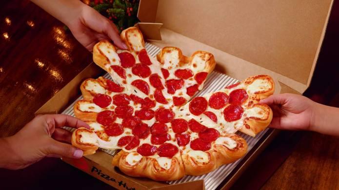 Pizza Hut's Ultimate Cheesy Crust Pizza