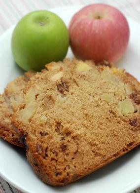 Vegan Apple Spice Quick Bread