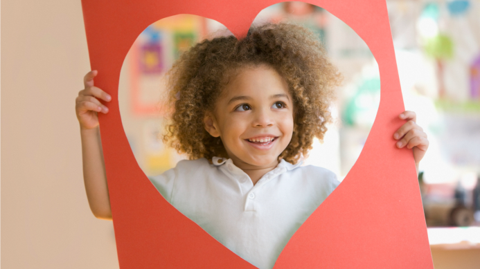Simple Valentine's Day crafts your kids