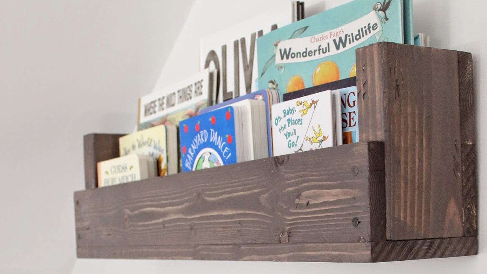 Diy Rockstars This Blogger Turned Scrap Wood Into A Book