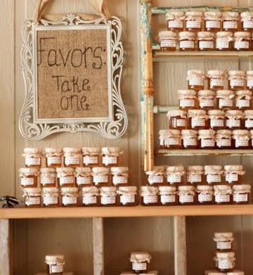 Wedding party favors: How to cut