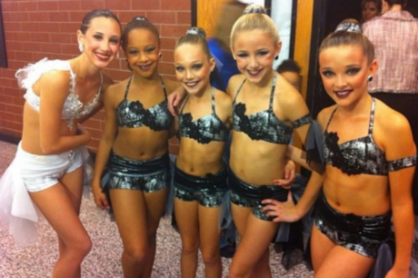 The Girls from Dance Moms