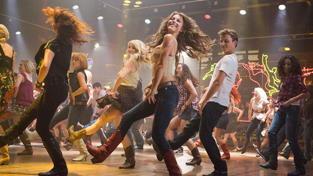 Footloose dancing style